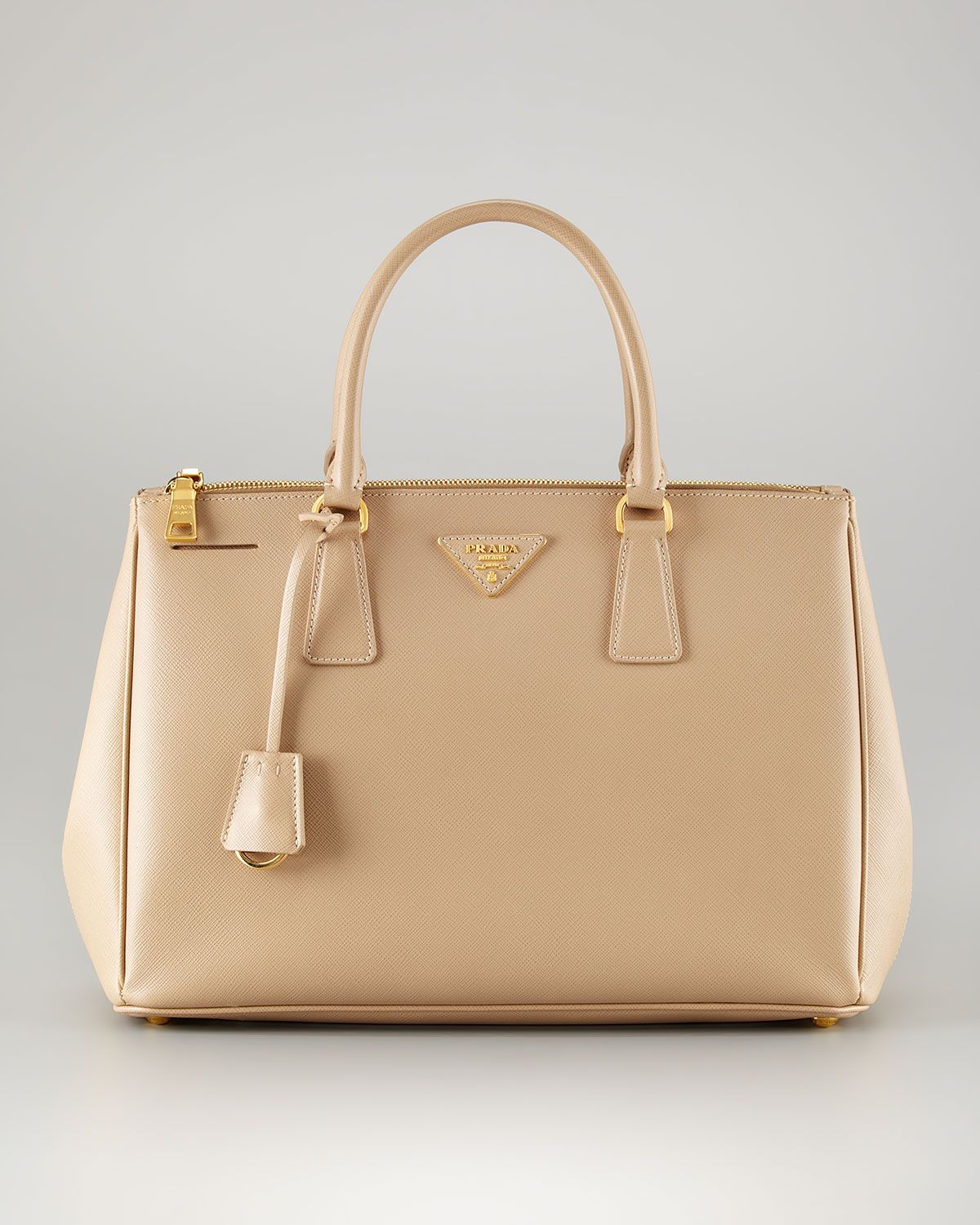 5a469881a68a Prada Lux tote. Nude color. gold tone hardware. | TheUltimateBag ...