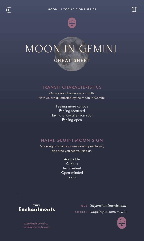 moon sign based gemini horoscope