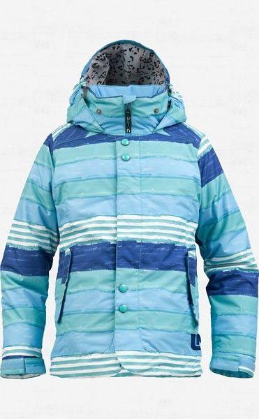 6a7ffac3c Burton Girls Melody Snowboard Jacket-Avatar Printed Stripe ...
