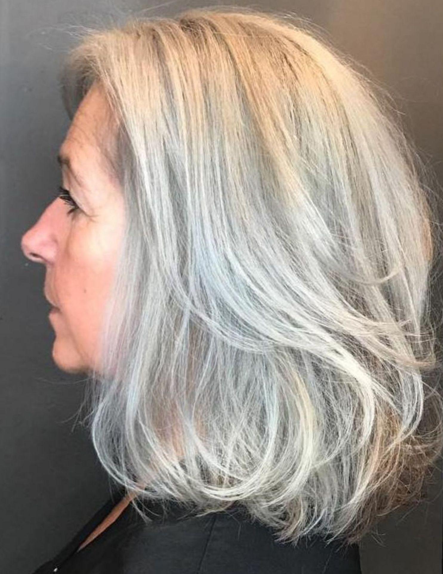 65 Gorgeous Gray Hair Styles Medium Hair Styles Grey Hair