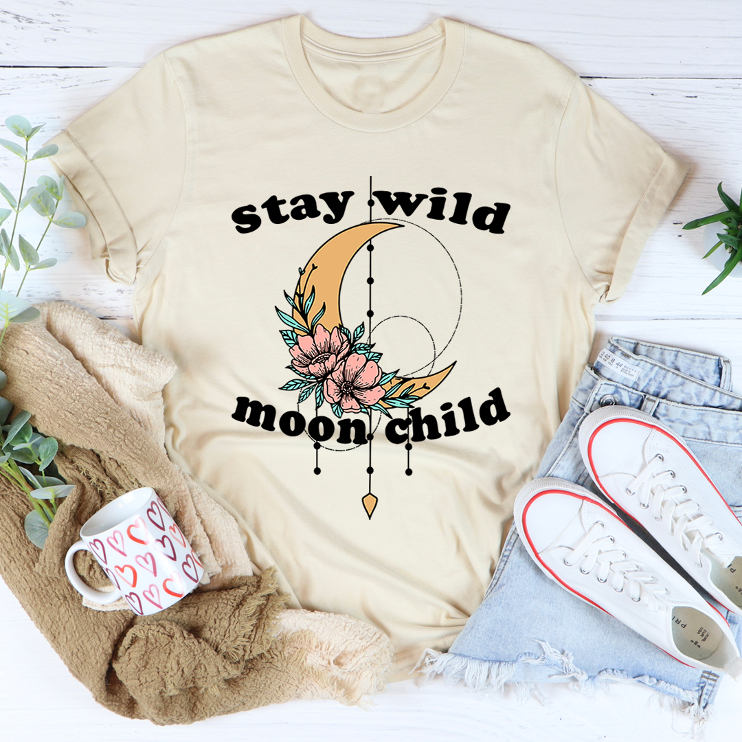 Stay Wild Moon Child Boho Tee