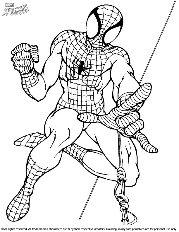 Spider Man Coloring Page Free Kids Coloring Pages Spiderman Coloring Avengers Coloring Pages
