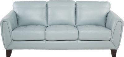 livorno aqua leather sofa home improvments sofa leather sofa rh pinterest com Blue Leather Recliner Bermuda Aqua Sofa