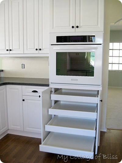 Great Kitchen Remodel I Would Love These Shelves For