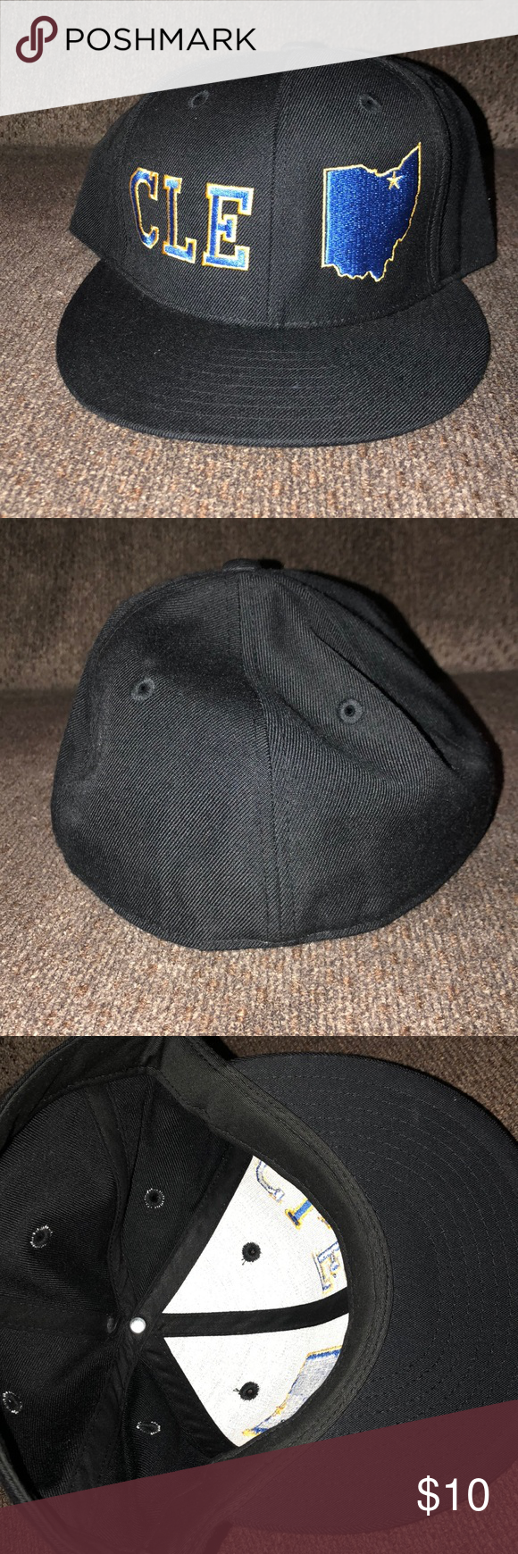 Men S Lids Cleveland Fitted Hat Fitted Hats Clothes Design Fashion Design