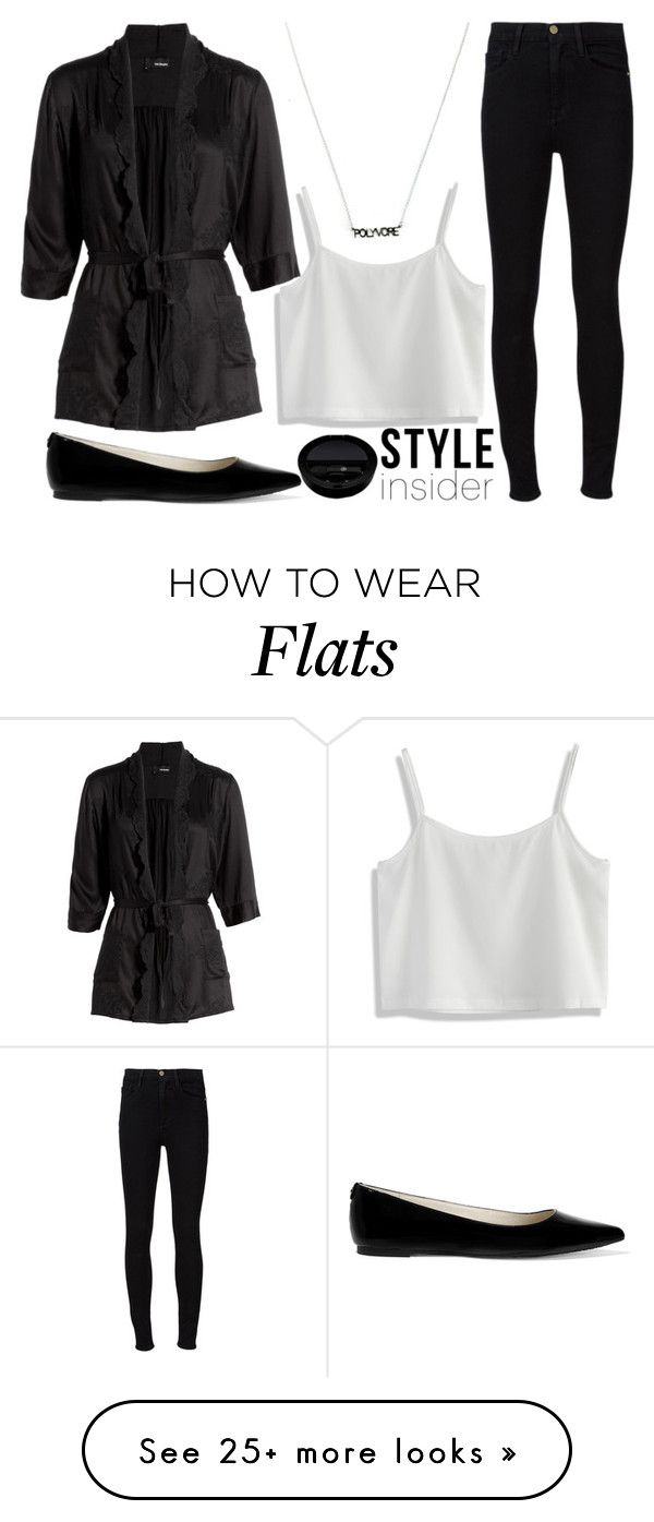 """""""style insider"""" by j-n-a on Polyvore featuring Chicwish, The Kooples, Frame Denim, MICHAEL Michael Kors and Giorgio Armani"""