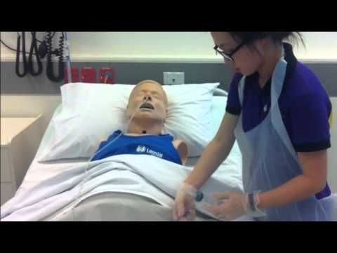 NGT insertion, assessment and care by nursing students