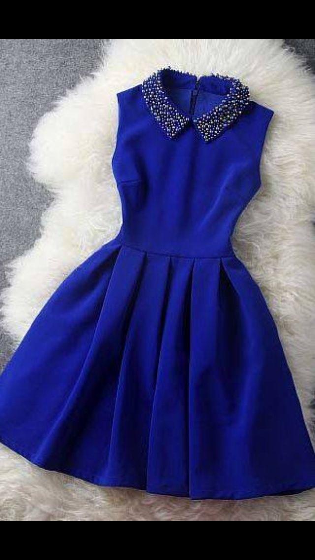 Azul :3   Vestidos   Pinterest   Azul y Vestiditos