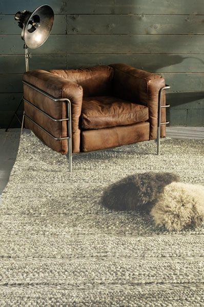 Tapis laine Irish flanelle 140x200 - image 1 - Decotaime | loft ...