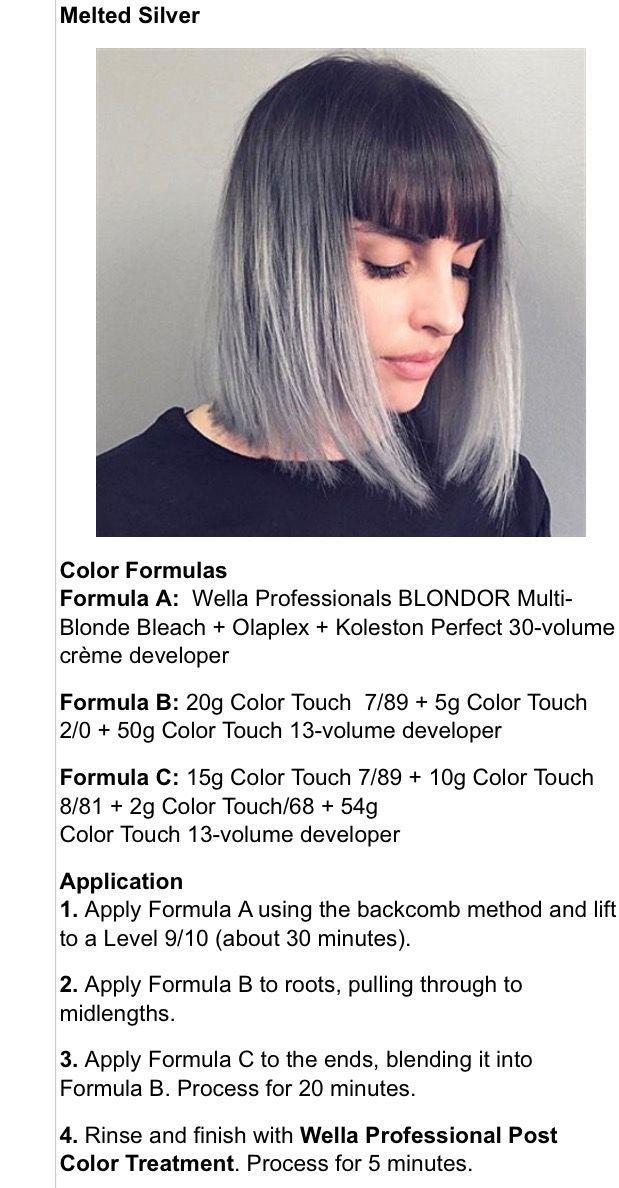 Hair Coloring Hair Color Formulas Wella Hair Color Hair
