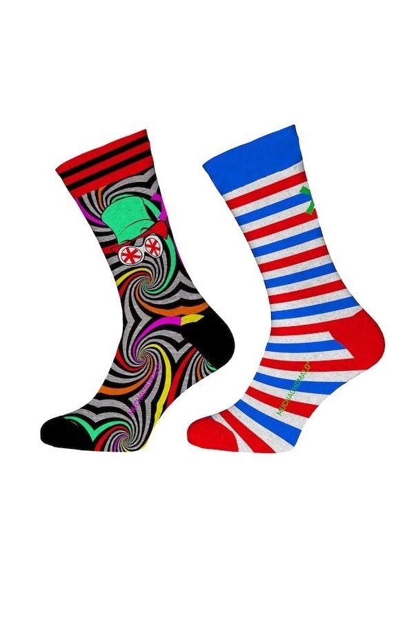 Muchachomalo sokken voor jongens Charlie, rood
