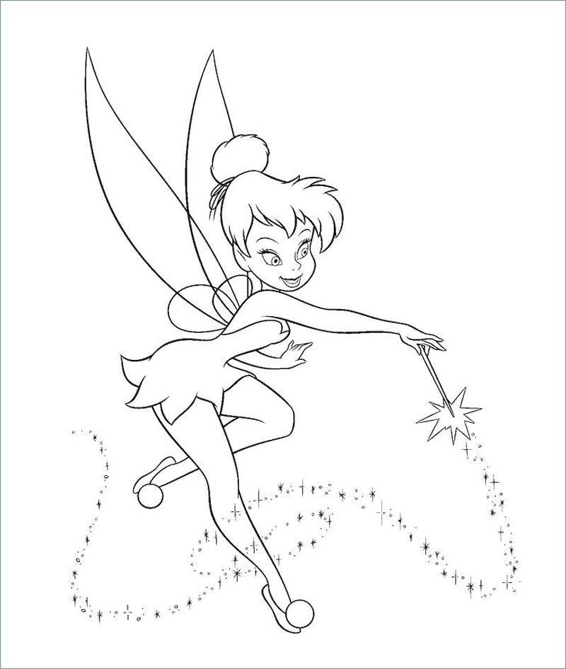 Tinkerbell Coloring Pages Tinkerbell Coloring Pages, Fairy Coloring Pages,  Fairy Coloring