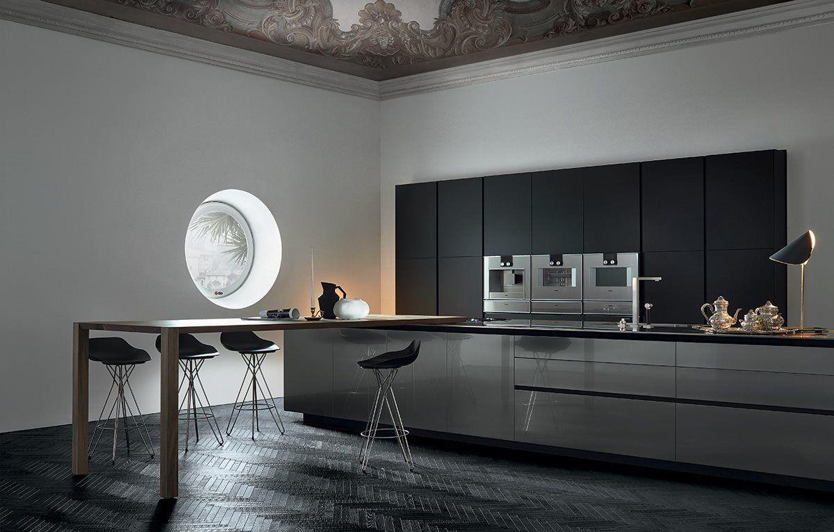 Poliform Varenna Twelve kitchen by Carlo Colombo and CR&S Varenna ...