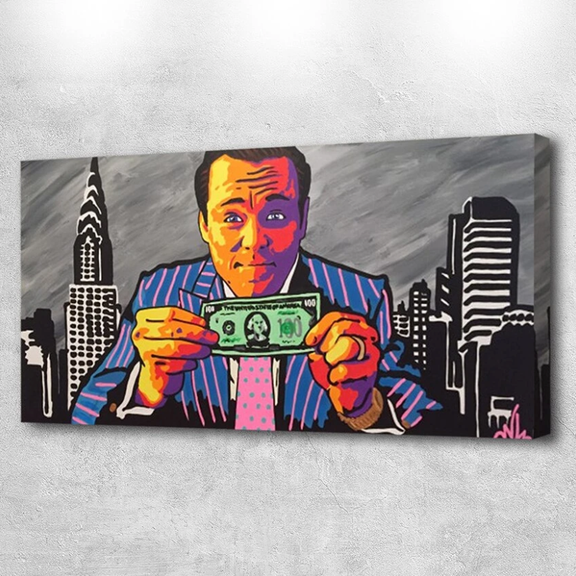Wolf Of Wall Street Wolf Of Wall Street Wall Art Prints Wolf From Wall Street
