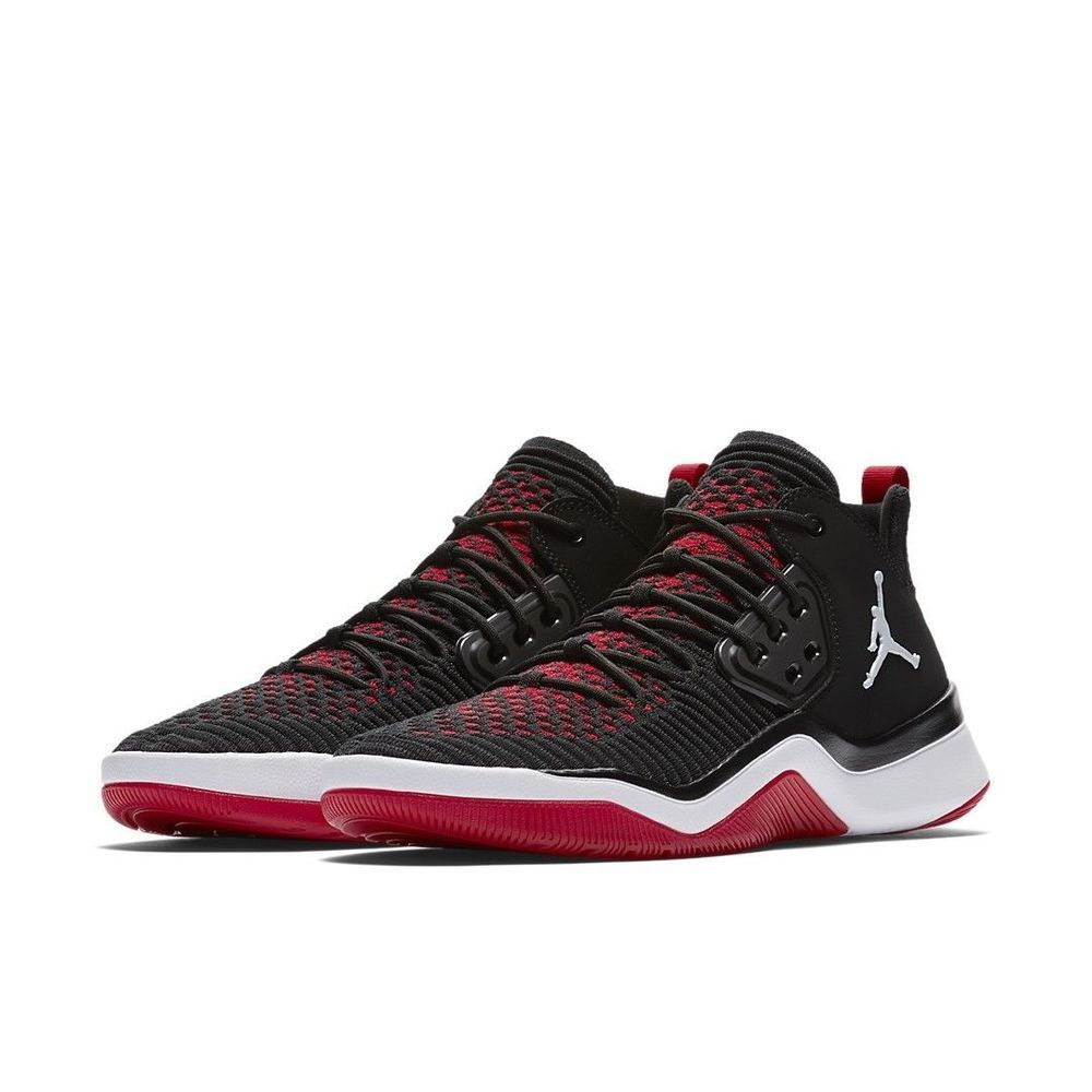 timeless design b4bc4 3aaf2 Jordan DNA LX Trainer Mens Shoes 9.5 Black White Gym Red  Jordan   CrossTrainingShoes