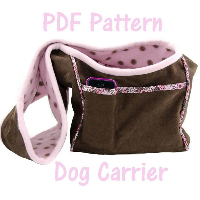 Dog Carrier PDF Sewing Pattern, Small Do | Pinterest | Hunde ...