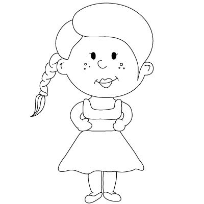 How To Draw People Fun Drawing Lessons For Kids Adults Drawing Lessons For Kids Drawing People Girl Drawing