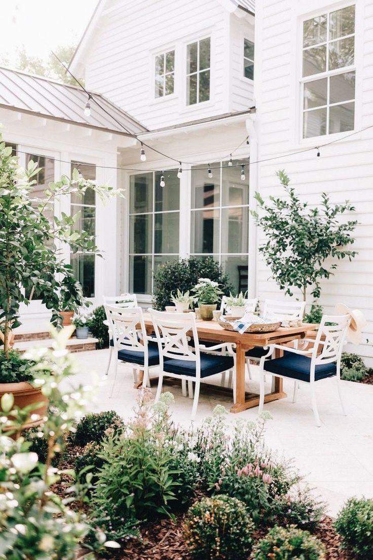 Photo of garten terrasse veranda balkon idee dekor pflanzen landhausstil landdesign – Balcony Konzept – PinBest