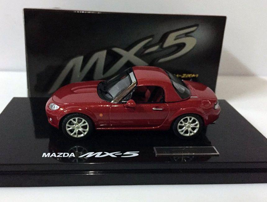 Cool Awesome 1/43 EBBRO MAZDA DEALER MX5 (RHD) MIATA ROADSTER ...