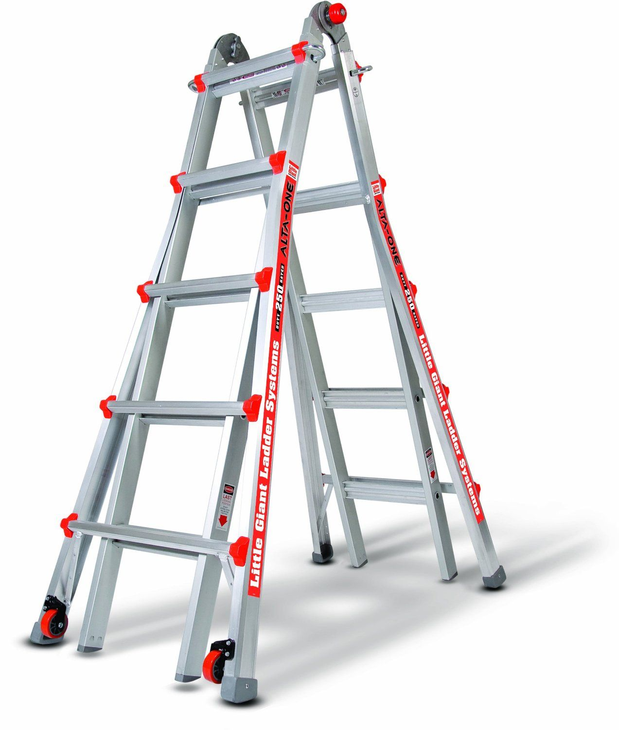 Little Giant Alta 22 Extension Ladder 184 99 Little Giants Best Ladder Telescopic Ladder