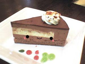 the cute choco cake