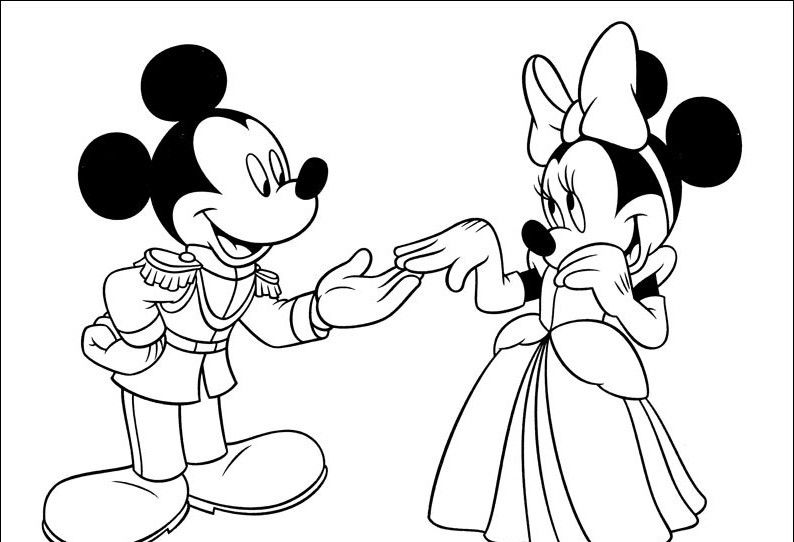 Myszka miki 116 Mickey mouse coloring pages, Mickey