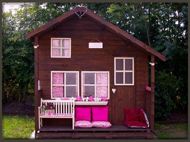 Our new summerhouse that I decorated with everything out of the shop, the kids love it, Jackie xxx
