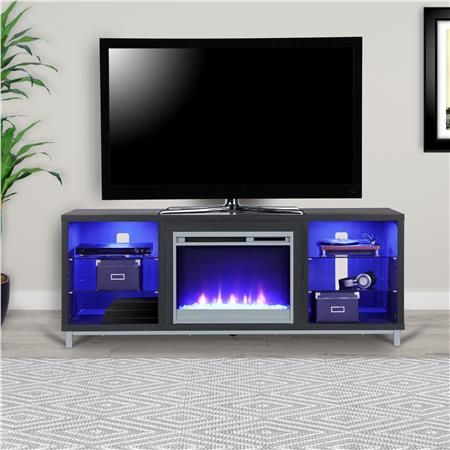Ameriwood home lumina fireplace tv stand for tvs up to 70 wide ameriwood home lumina fireplace tv stand for tvs up to 70 wide black teraionfo