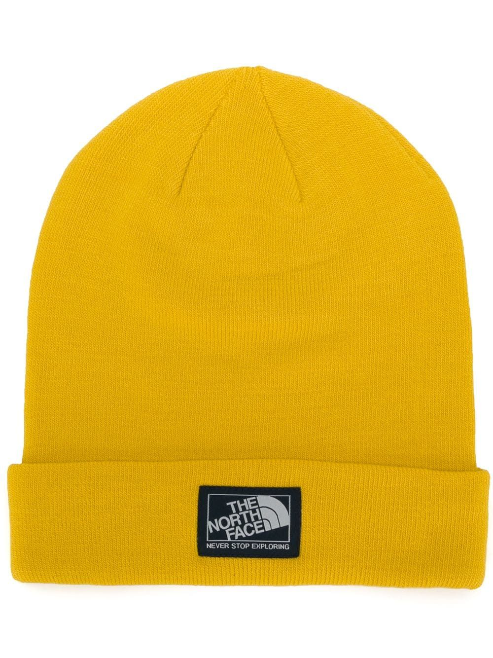 THE NORTH FACE THE NORTH FACE BASIC BEANIE HAT - YELLOW.  thenorthface ae775d4f680