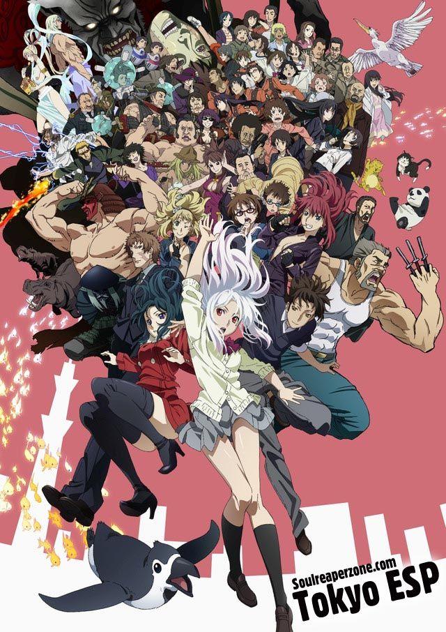 Tokyo ESP Anime, 2014 anime, Anime shows
