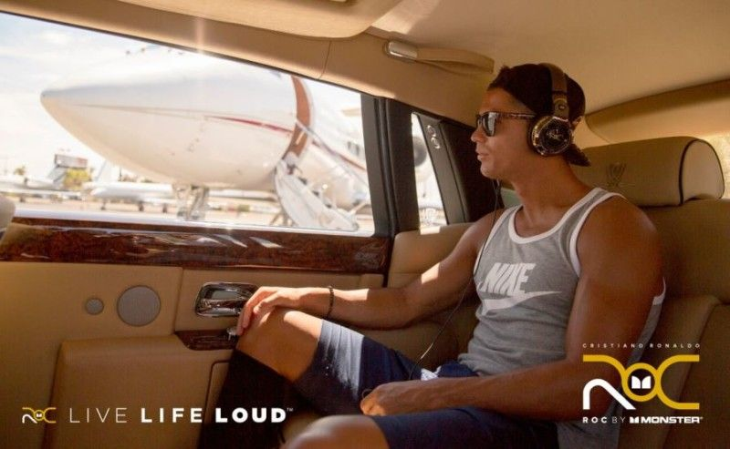 Lee Cristiano Ronaldo lanza ROC Live Life Loud en eBay