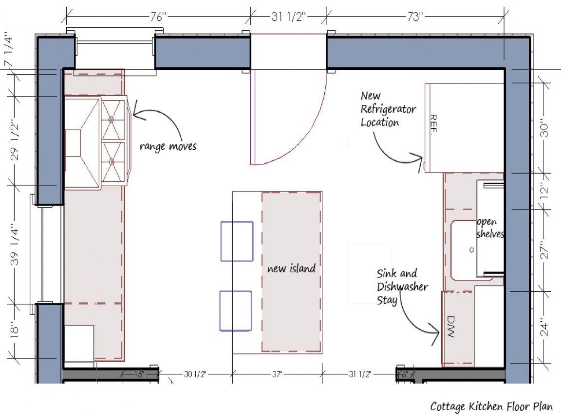 10 Inspiring English Cottage House Plans Kitchen Remodel Plans Bathroom Floor Plans Small Kitchen Floor Plans