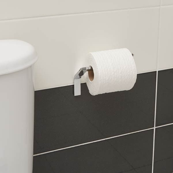 Rio Stainless Steel Bathroom Accessories - Toilet Roll Holder ...