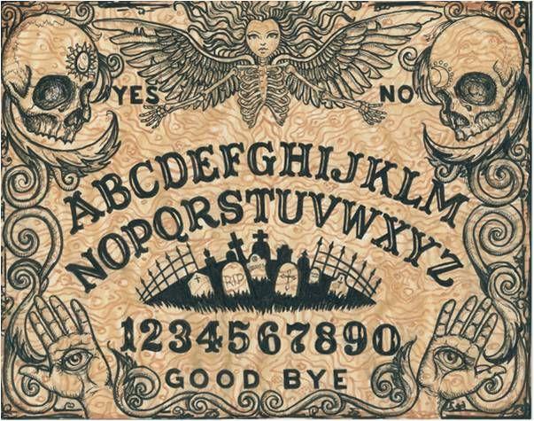 Ouija Board At Society6g 603475 Ouija Pinterest Ouija