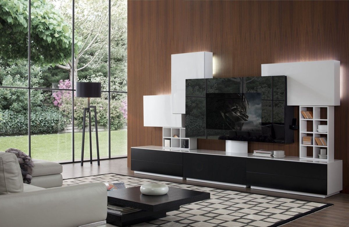 Bon Home Interior, Making Entertainment Center Design Ideas In Your Own Home:  Modern Entertainment Center Design Ideas