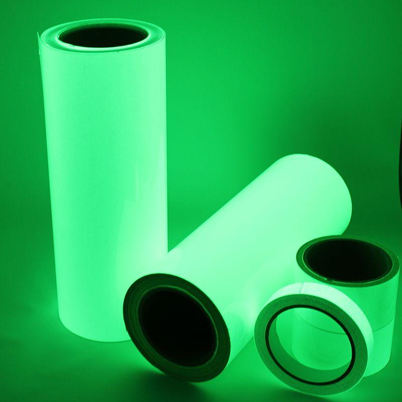 Frete Gratis Um Rolo De 10 M Luminous Fita Auto Adesivo Glow In The Dark Fase Casa Seguranca Decoracoes Fita Glow In The Dark Green Home Decor Safety Lights