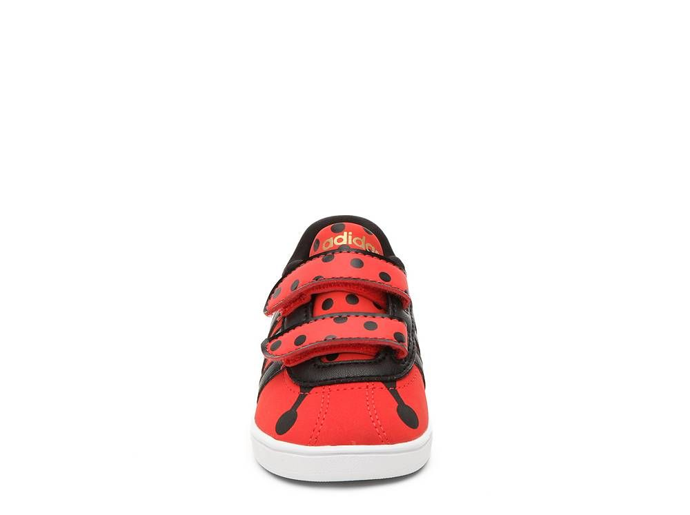adidas NEO Court Ladybug Girls Infant & Toddler Velcro Sneaker | DSW
