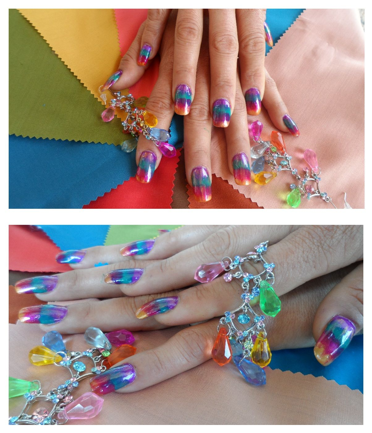 NAIL ART done by students at our South Austin campus. For