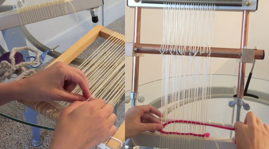 Bead And Tapestry Looms For Everyone From The Novice Crafter To The Professional Artist They Can Make Everything From Bead Tapestry Loom Loom Beading Tapestry