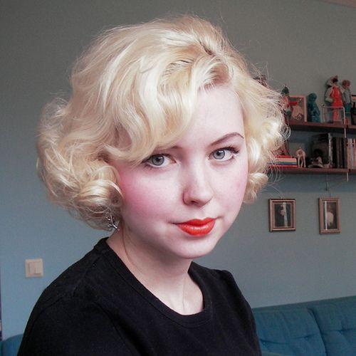 Best 25+ Short Retro Hair Ideas On Pinterest