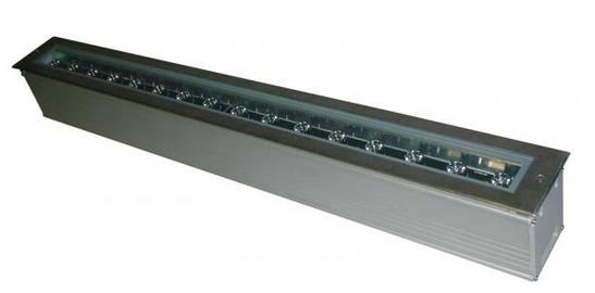"Linear LED Inground 49.2"" (1,250mm) Lengths LED LIGHTING | INGROUND #RAB #RABDesign #RABLighting"