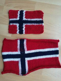 Strikkerne: Strikka og hekla flagg