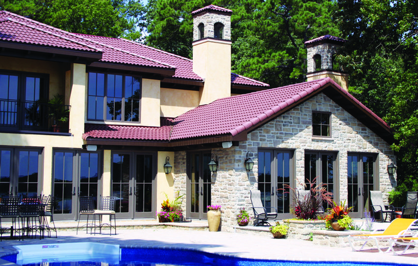 Design Your Home With Imitation Tuile Sheets Roof Tiles