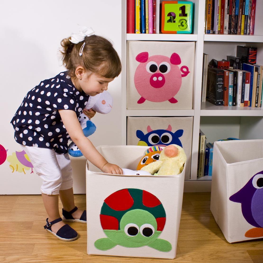 Cajas de almacenaje infantil en cajas de almacenaje pinterest cajas - Caja almacenaje infantil ...