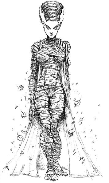 Bride Of Frankenstein Bride Of Frankenstein Monster Coloring Pages Frankenstein