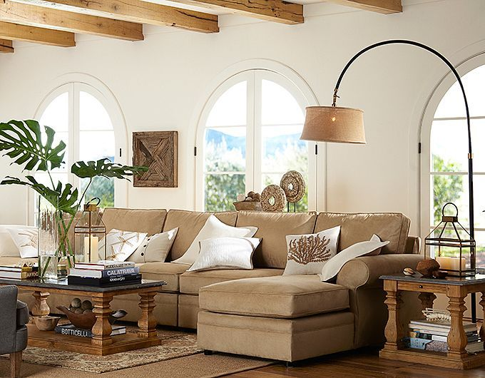 Pottery Barn Living Room Ideas Sutton Coffee Table