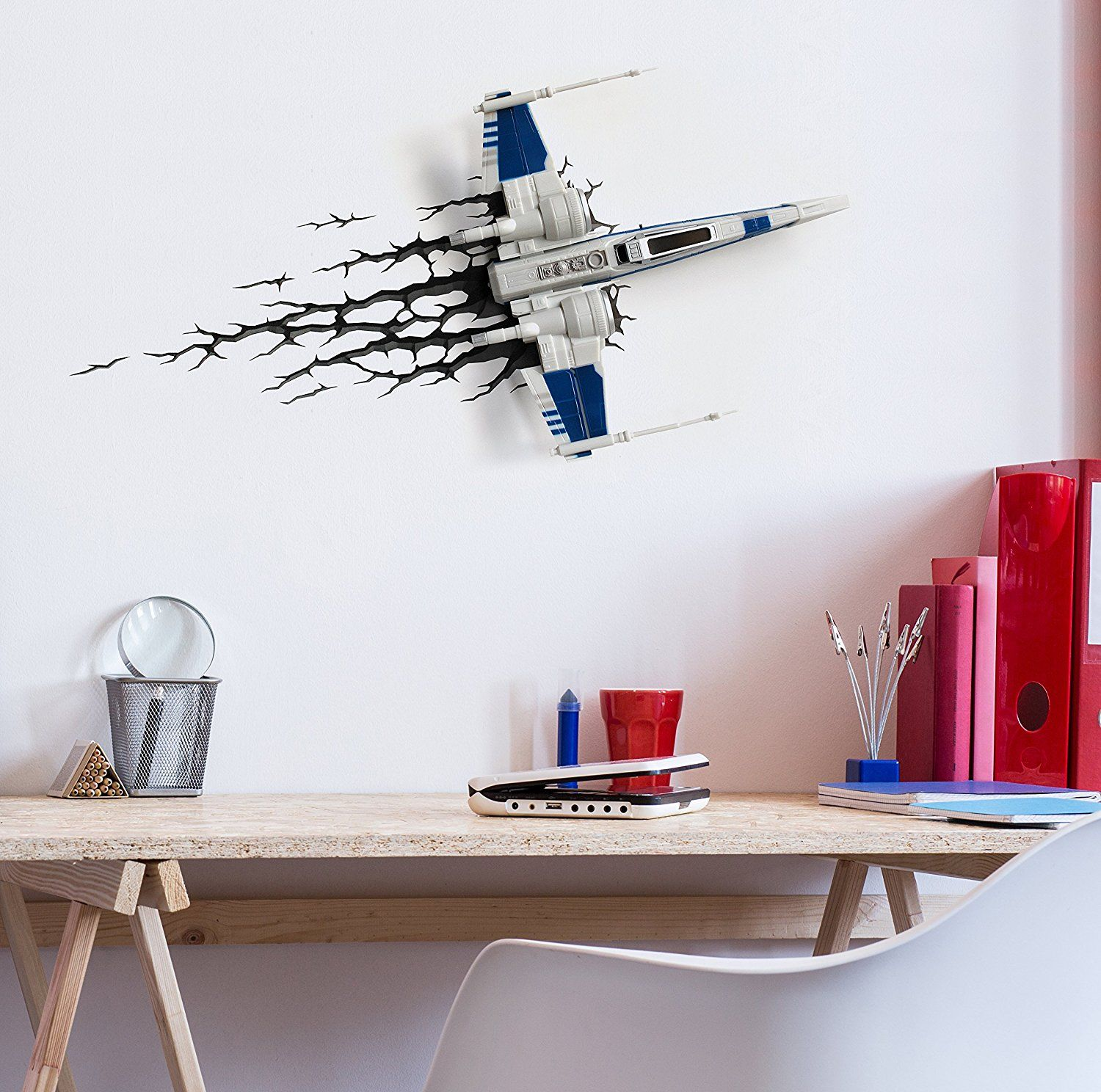 ⭐NEW : Lampe Murale X-Wing Star Wars  Dispo ici ➡ http://ow.ly/ADbv30ceb0a  #StarWars #deco #lampe