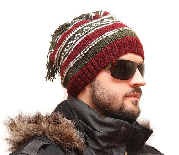 2115c090983 Best winter hats - Multicoloured Knited Hat