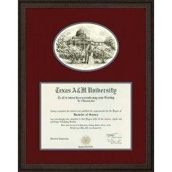 Aggie Diploma Framing By Benjamin Knox Diploma Frame Frame Texas