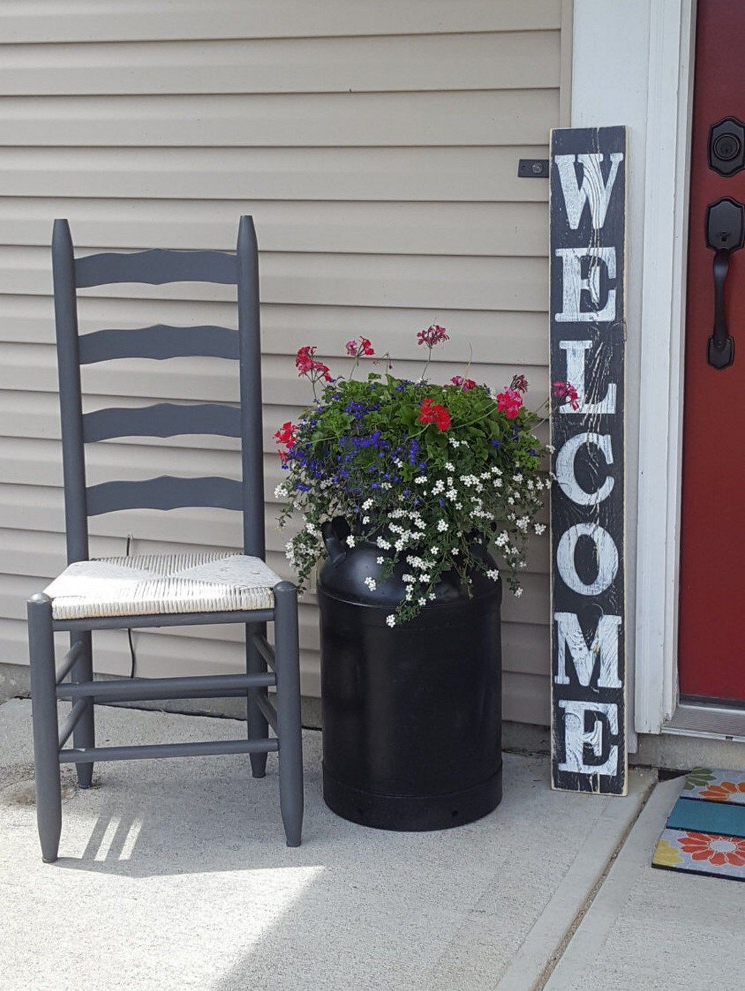 Pretty Spring Front Porch Decorating Ideas 5 Porch
